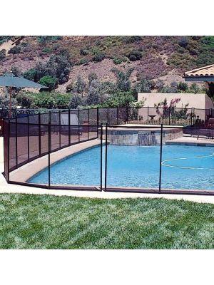 Barriera di sicurezza per piscina - in tessuto avvolgibile