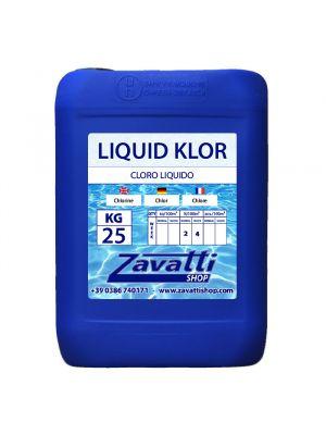 25 Lt Liquid Klor - cloro liquido per dosatori automatici piscina