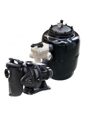 Impianto di filtrazione completo Fiberpool 10 MC/H con pompa DAB 0,50 cv