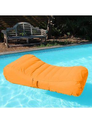 Sdraio galleggiante orange