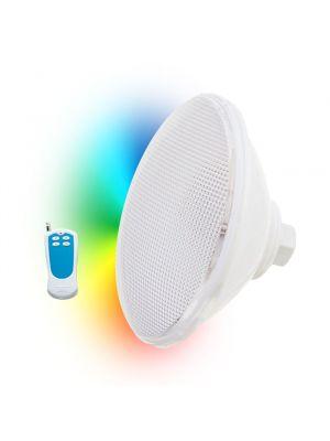 Lampada faro a led RGB Seamaid Ecoproof con telecomando PAR 56 270 Led 16W
