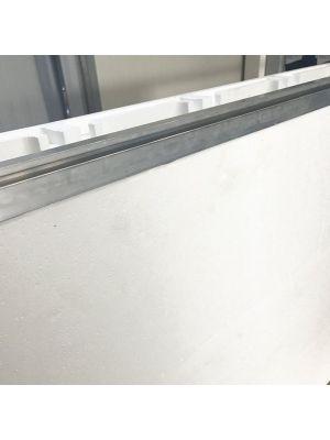 Profilo raggiato specifico per EASYBLOK verghe rinforzate in alluminio - prezzo al ml