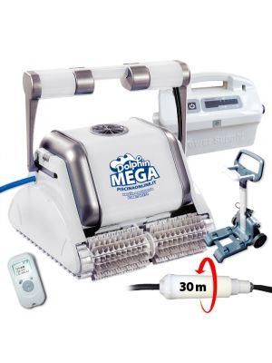 Robot pulitore piscina Dolphin Maytronics Mega Pro X Timer Gryo