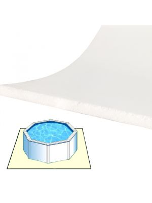Tappeto materassino morbido da fondo 4 x 4 m per piscina fuoriterra