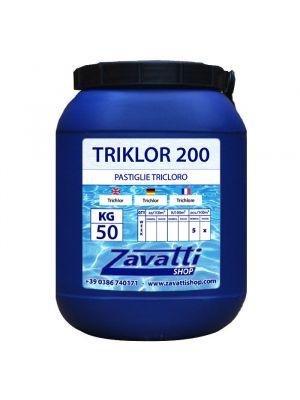 50 Kg Triklor 200 - tricloro in pastiglie da 200 gr