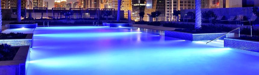 Illuminazione per piscina