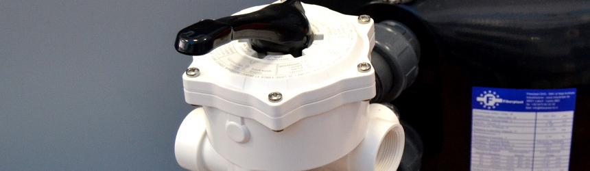 valvole selettrici per impianto filtrazione piscina