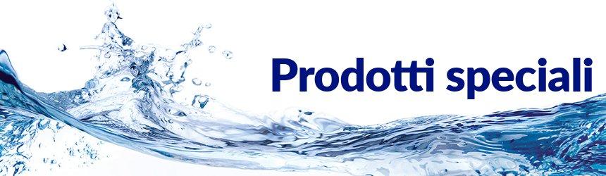 prodotti speciali per trattamento acqua piscina