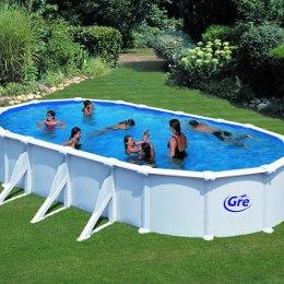 Piscine fuoriterra rigide gre anche interrabili for Offerte piscine fuori terra rigide