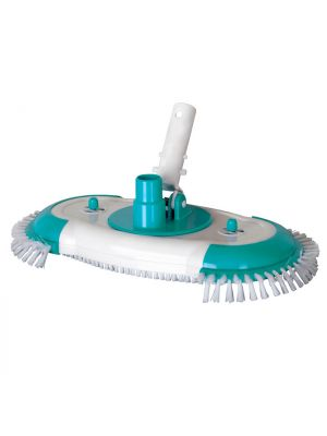 Aspirafango ovale con spazzole laterali per piscina