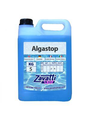 5 Lt Algastop - antialghe liquido per piscina