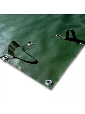 Copertura invernale 12 x 22 m per piscina 10 x 20 m - predisposto per tubolari
