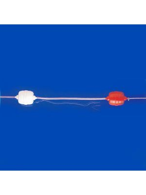 Corsia galleggiante NORM/50 da 25 m galleggianti ogni 50 cm Patentverwag da gara