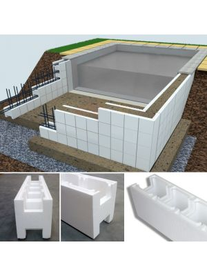 Profilo raggiato specifico per easyblok verghe rinforzate for Costruisci la tua casa online