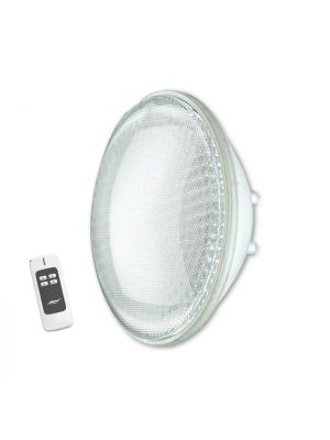 Lampada faro a led bianco Seamaid per piscina con telecomando PAR 56 39 LED 16,6W tre intensità