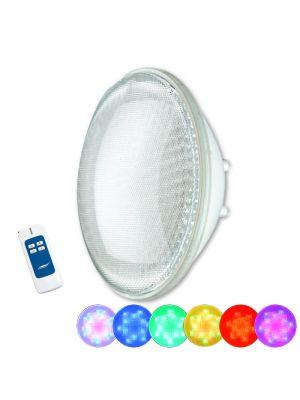 Lampada faro a led multicolor RGB Seamaid con telecomando PAR 56 270 Led 15,9W standard