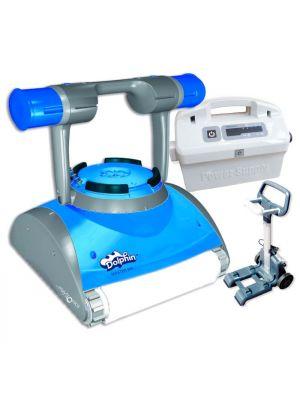 Robot pulitore Dolphin Master M4 per piscina in piastrelle