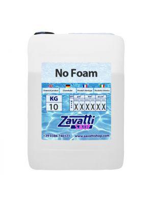 10 Lt No Foam - prodotto antischiuma concentrato inodore per vasche spa idromassaggio