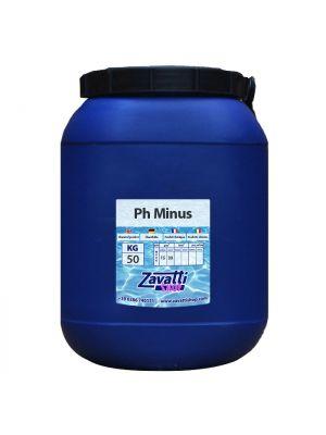 50 Kg Ph Minus - riduttore ph granulare per piscine