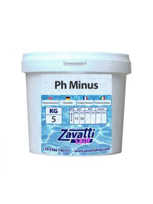 5 Kg PH Minus - riduttore PH granulare per piscina