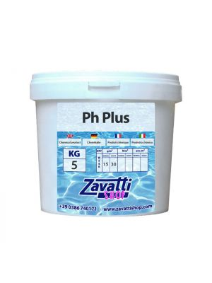5 Kg Ph Plus - elevatore Ph granulare per piscine