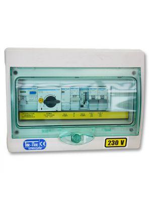 Quadro elettrico per piscina a skimmer con 1 pompa monofase fino a 2 CV - Tele-Matic