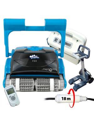 Robot pulitore per piscina Dolphin F60 con telecomando