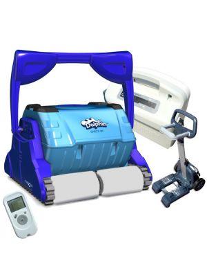 Robot pulitore Dolphin Sprite RC per piscina in piastrelle