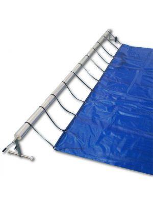Rullo Avvolgitore per copertura piscina da 6,50 a 7,50 mt di larghezza