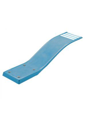 Trampolino Delfino per piscina interrata lunghezza 1,60 m Azzurro - Astralpool