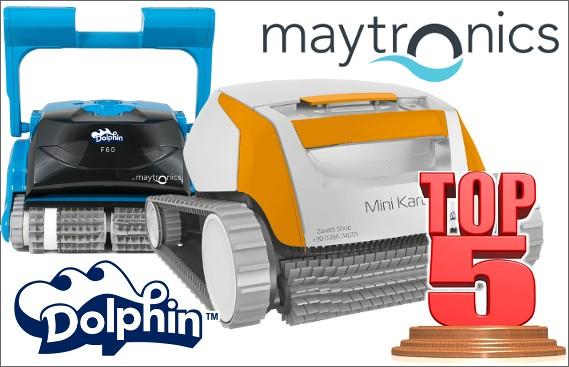 Robot Dolphin by Maytronics i migliori 5 robot da piscina