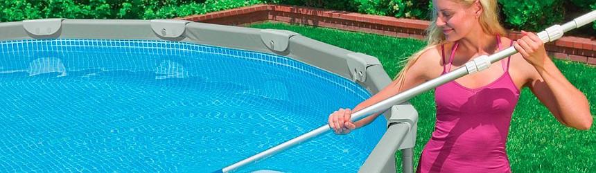 Aste telescopiche per piscina