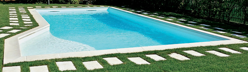 bordi Carobbio per piscine a skimmer