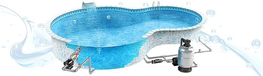 Componenti per completamento piscina