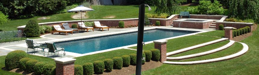 Docce solari da esterno per piscina