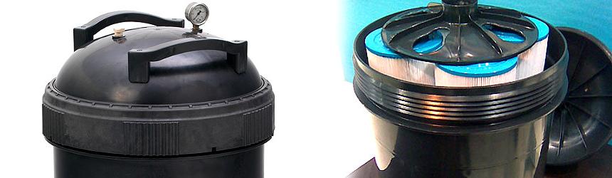filtro professionale a cartuccia per filtrazione acqua piscina
