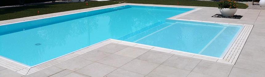 Griglie per piscina a sfioro