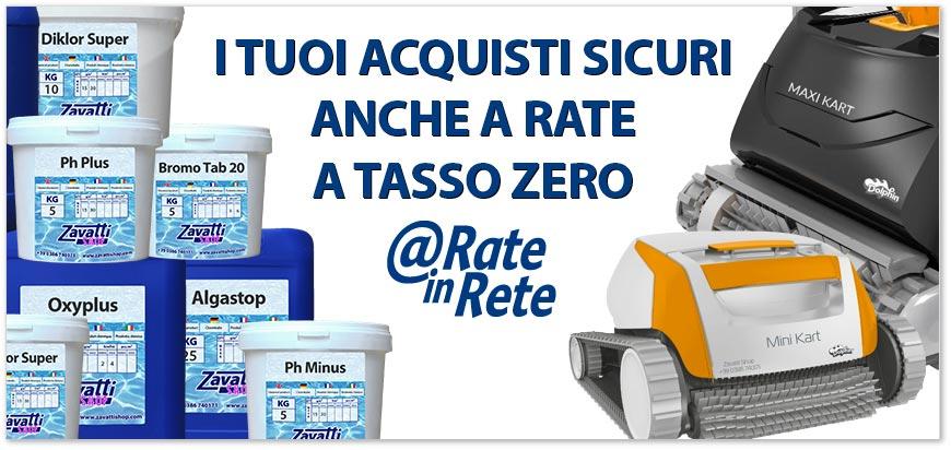 I tuoi acquisti rateali a tasso zero in tutta sicurezza con Rate in Rete