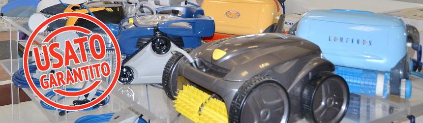 robot pulitori piscine usati ricondizionati