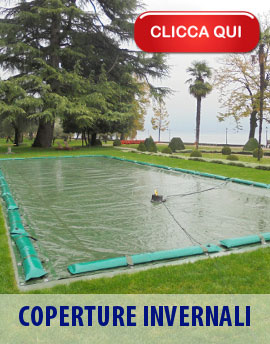 Teli di copertura invernale per piscina